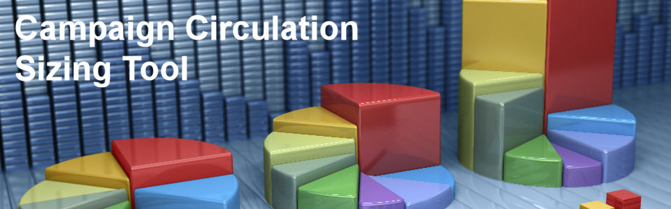 DWS Associates Marketing (Advertising) Campaign Circulation Sizing Tool - Inquiry / Lead Generation Calculator