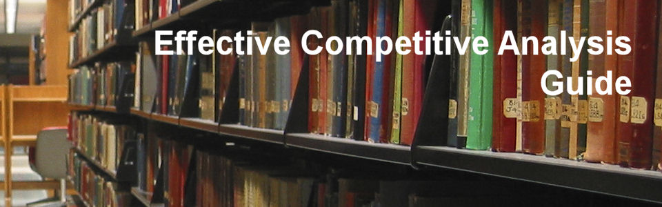 Effective Competitive Analysis Guide