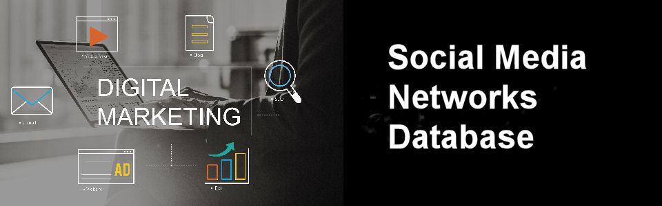 DWS Associates Social Media Networks Database