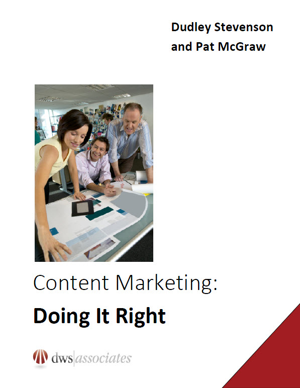Content Marketing Doing It Right Cover