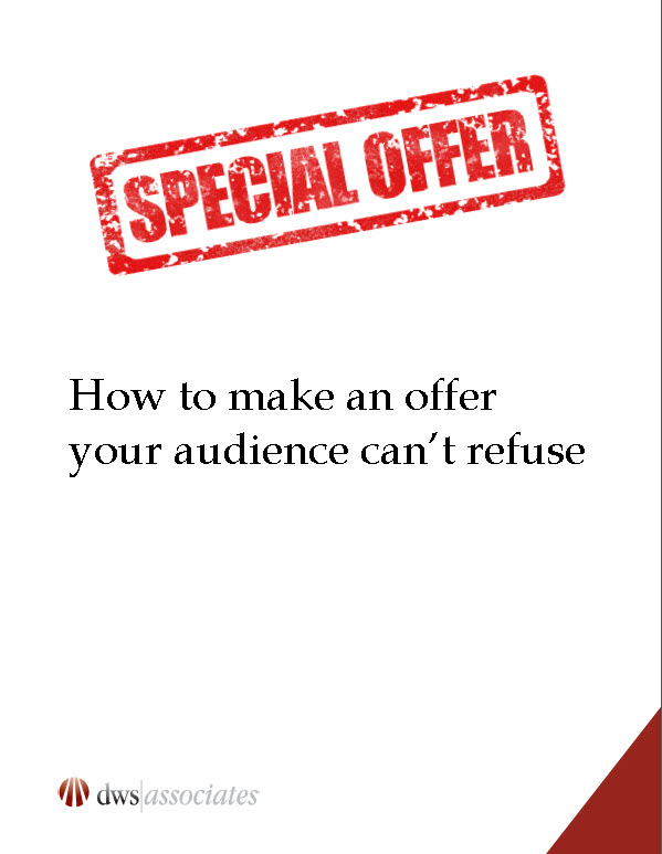 The direct marketing offer - how to make one they can't refuse