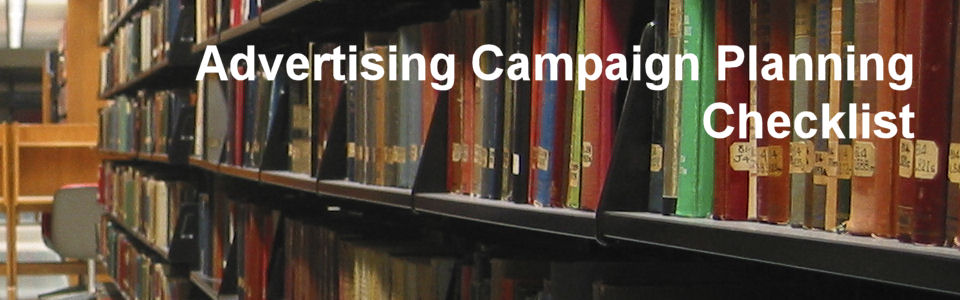 DWS Associates - Advertising Campaign Planning Checklist