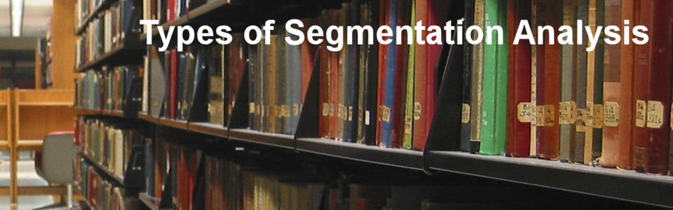 DWS Associates - Types of segmentation analysis