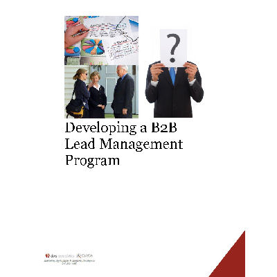 Developing a lead management program white paper
