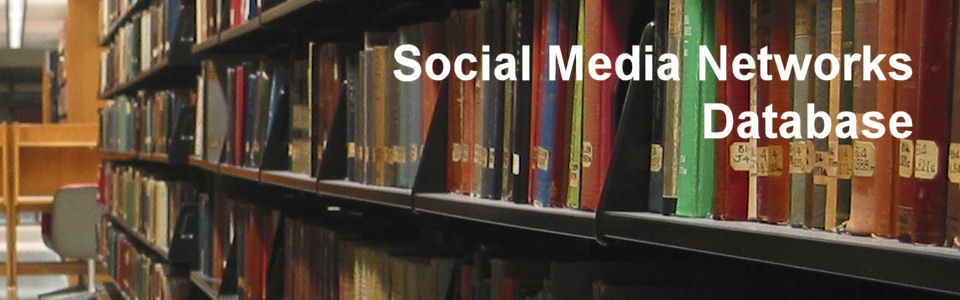 DWS Associates - Social Media Networks Database