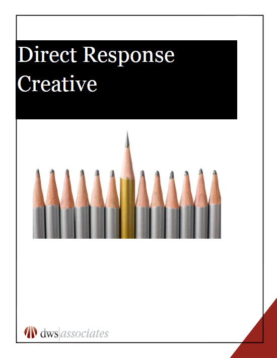 Direct response creative white paper